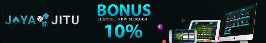 Bonus New Member Hingga 10% Di Jayajitu