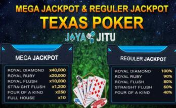Hadiah Jackpot Pada Permainan Texas Poker