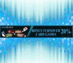 bonus TO 20% Cardgame jayajitu