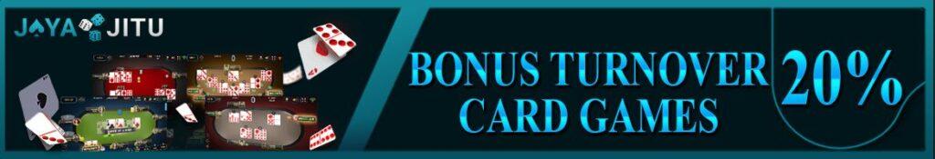 bonus 20% cardgame jayajitu